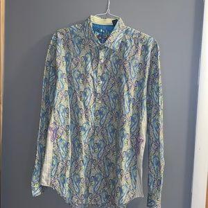Robert Graham men's button up shirt XL